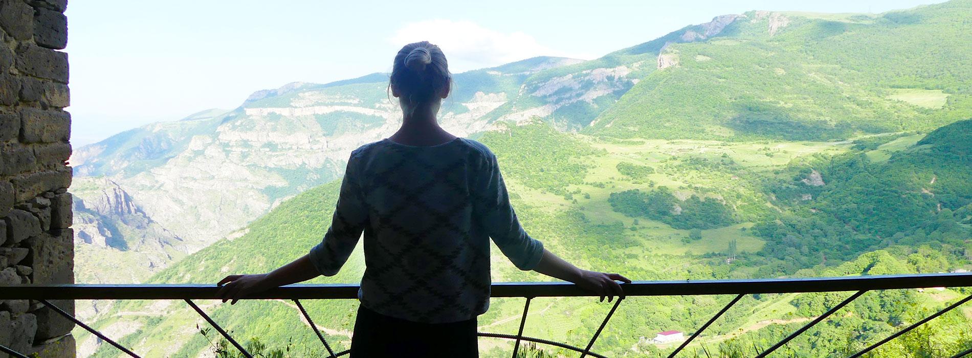 Sophia besöker Armenien