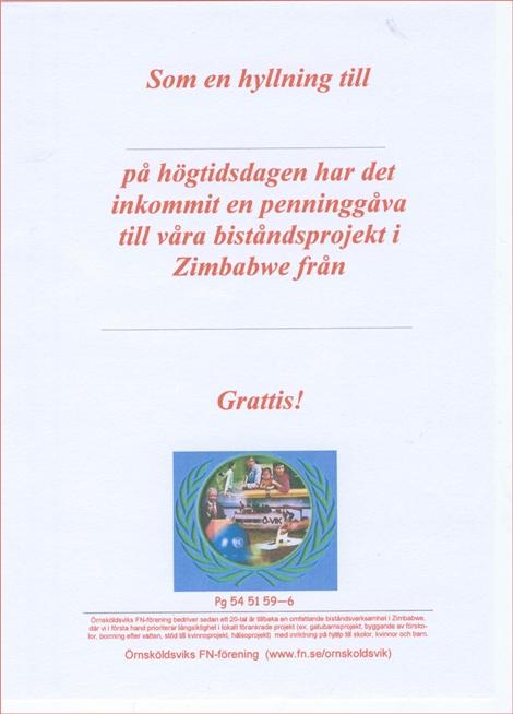 skriva grattiskort Minnesblad / Gratulationskort – Örnsköldsviks FN förening skriva grattiskort