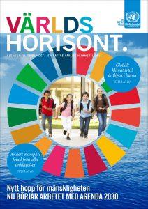 Världshorisonts nummer 1 2016 handlar om Agenda 2030, de nya globala målen för hållbar utveckling