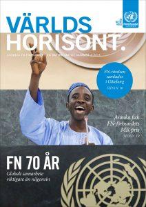 Världshorisont nummer 3 2015 är ett temanummer om FN 70 år