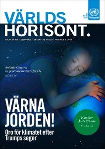 Världshorisont nummer 4 2016 handlar om klimatfrågan