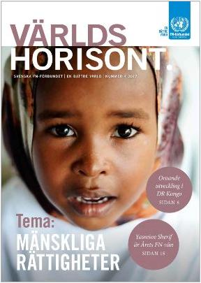 Världshorisont nummer 4 2017 handlar om mänskliga rättigheter