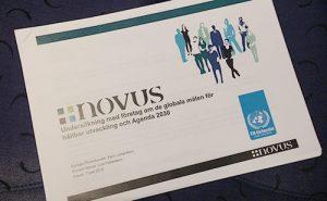 Novus rapport om globala målen