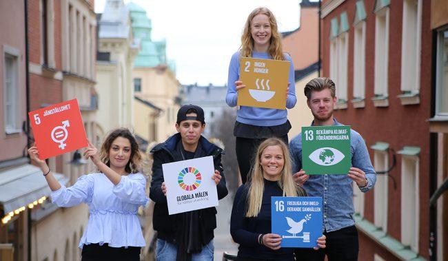 Ambassadörer för de globala målen