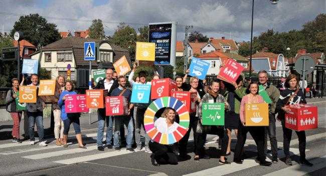 Globala målen i Blekinge